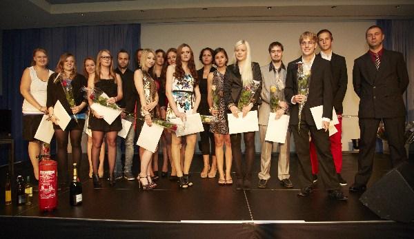 Diplomfeier 2012 Casino Luzern: KV-09 / TS-08 - Unsere erfolgreichen Absolventen